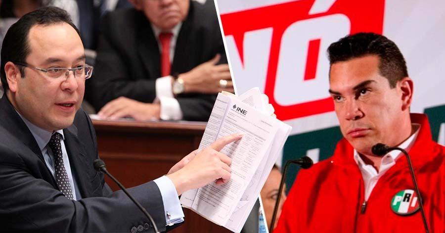Tómala: INE multa de $84.3 MDP al PRI por ofertar el padrón electoral en Mercado Libre; piden reconsideración
